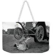 Car Lifter Weekender Tote Bag
