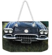 Car On The Grass Weekender Tote Bag