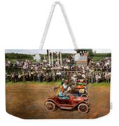Car - Race - On The Edge Of Their Seats 1915 Weekender Tote Bag