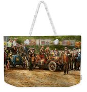 Car - Race - The End Of A Long Journey 1906 Weekender Tote Bag