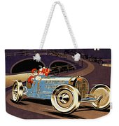 Car Racing Christmas Poster Of The 30s Weekender Tote Bag