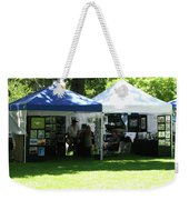 Car Show Booth 2011 Weekender Tote Bag