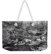 Caradocs Falls 2 Mono Weekender Tote Bag