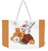 Caramel Chocolate Weekender Tote Bag
