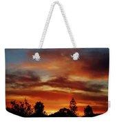 Caramel Sunset Weekender Tote Bag
