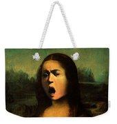 Caravaggio's Mona Weekender Tote Bag
