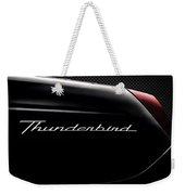 Carbon Black Thunder Weekender Tote Bag