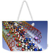 Carbon Nanotube, Ions And Dna Weekender Tote Bag