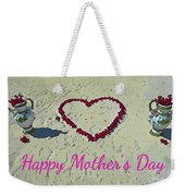 Card For Mothers Day Weekender Tote Bag