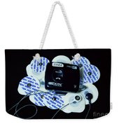 Cardiac Event Recorder Weekender Tote Bag
