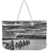 Cardiff Bay Dolphins Mono Weekender Tote Bag