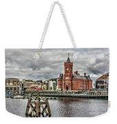 Cardiff Bay Skyline Weekender Tote Bag