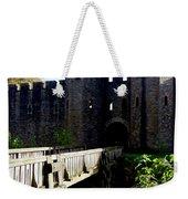 Cardiff Castle Gate Weekender Tote Bag