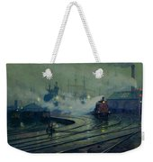 Cardiff Docks Weekender Tote Bag