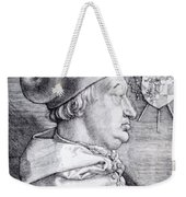 Cardinal Albrecht Of Brandenburg 1523 Weekender Tote Bag