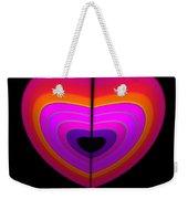 Cardinal Heart Weekender Tote Bag