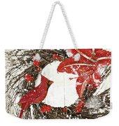 Cardinal Holiday I Weekender Tote Bag