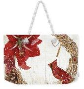 Cardinal Holiday II Weekender Tote Bag