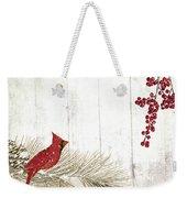 Cardinal Holiday IIi Weekender Tote Bag
