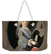 Cardinal-infante Luis Antonio De Bourbon And Farnese Weekender Tote Bag
