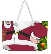 Cardinals Santa Claus Weekender Tote Bag