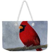 Cardnial Weekender Tote Bag by Tracey Goodwin