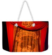 Caretaker Banner Weekender Tote Bag