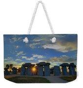 Carhenge - Nebraska - Sunset Weekender Tote Bag