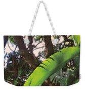 Caribbean Banana Leaf Weekender Tote Bag