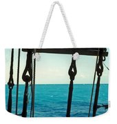Caribbean From A Square Rigger Weekender Tote Bag