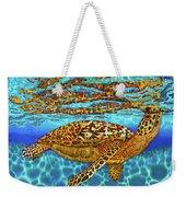 Caribbean Hawksbill Sea Turtle Weekender Tote Bag