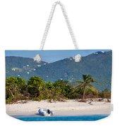Caribbean Island Weekender Tote Bag