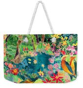 Caribbean Jungle Weekender Tote Bag