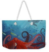 Caribbean Reef Octopus Weekender Tote Bag