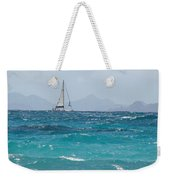 Caribbean Sailing Weekender Tote Bag