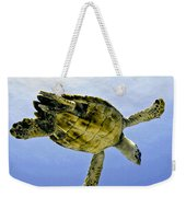Caribbean Sea Turtle Weekender Tote Bag
