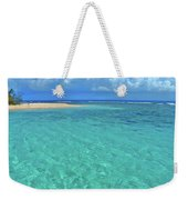 Caribbean Water Weekender Tote Bag by Scott Mahon