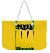 Caribbean Yellow Weekender Tote Bag