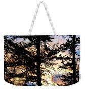 Cariboo District Sunset Weekender Tote Bag