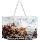Cariboo Fall Weekender Tote Bag