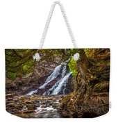 Caribou Falls In Fall Weekender Tote Bag