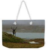 Caribou Fog Weekender Tote Bag