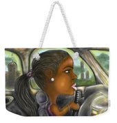 Caricature Ride With Jay Weekender Tote Bag