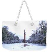 Carillon In Winter Weekender Tote Bag