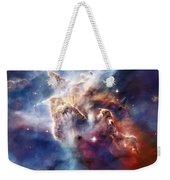 Carina Nebula Pillar Weekender Tote Bag