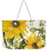Carina Sunflowers Weekender Tote Bag