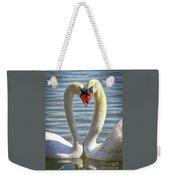 Caring Swans Weekender Tote Bag