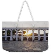 Carioca Aqueduct, Rio De Janeiro Weekender Tote Bag