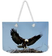 Cape Vincent Eagle Weekender Tote Bag