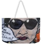 Carlos The Jackal Weekender Tote Bag